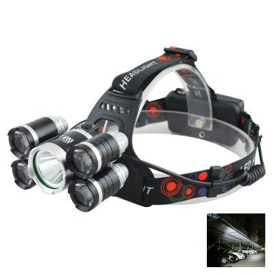 YWXLight RJ-6000 LED Headlamp Waterproof switch for Camping Travel Walking