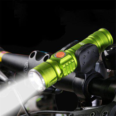 YWXLight LED Rechargeable USB Flashlights Lighting Inbuilt Lithium Battery