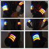 YWXLight Running Safety Glow Light Arm Band LED Wrist Straps Light - RED