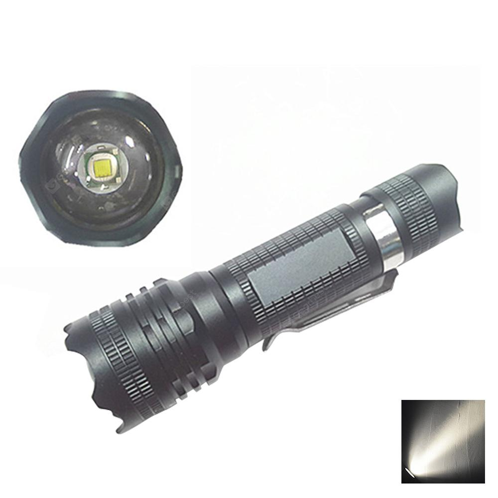 YWXLight LED Lampe de poche Mini Tactical Handheld Torch Portable Zoomable Light Lamp