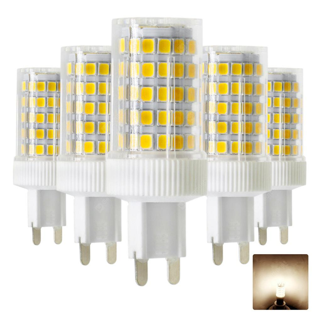 5PCS Ywxlight G9 2835SMD Led Dimmable 10 Watt Bi-Pin Lamp Ac 200V - 240V