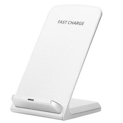 Minismile A1 11.7W Quick Charge Wireless Charger Dual-coil Power Charging Pad Stand for IPHONE X / 8 / 8 Plus / Samsung