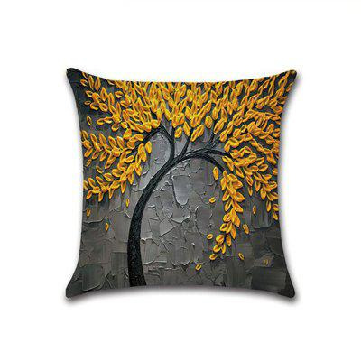 New Three-dimensional Oil Painting Linen  Pillow Covers