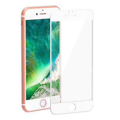 Vetro temperato curvo con bordi arrotondati 3D per iPhone 6 / 6S