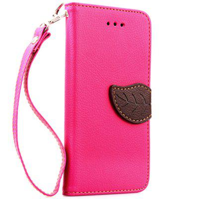 Leaf Luxury Leather Wallet Stand Flip Cover Case for iPhone 6 Plus / 6s Plus kinston four leaf clover pattern pu plastic case w stand for iphone 6 plus red silver