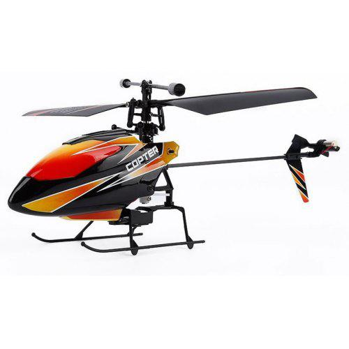 WLTOYS V911 2.4GHZ 4 Channel Single Blade Helicopter with Gyro Remote Control Toys