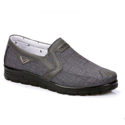 Fashion Men's Leather Casual Breathable Antiskid Loafers Moccasins Shoes