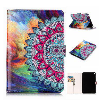 Фото 3D Relief PU Leather Case for iPad Mini 4 with Card Slots Folio Stand Tablet Cover retro flip book pu leather case for apple ipad 2 3 4 luxury magnetic stand smart cover ipad tablet stylus