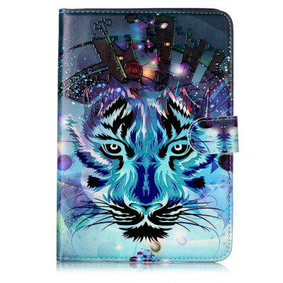 3D Relief PU Leather Case for iPad Mini 4 with Card Slots Folio Stand Tablet Cover retro flip book pu leather case for apple ipad 2 3 4 luxury magnetic stand smart cover ipad tablet stylus