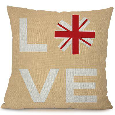 L1001 - 1 European Style Sofa Car Indoor London Stamp Set By the Waist Pillow 45 x 45cm фен дорожный irit ir 3140