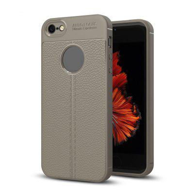 Case for iPhone 5 / 5S / SE Litchi Grain Anti Drop TPU Soft Cover roar korea all day colorful jelly tpu shell case for iphone se 5s 5 grey