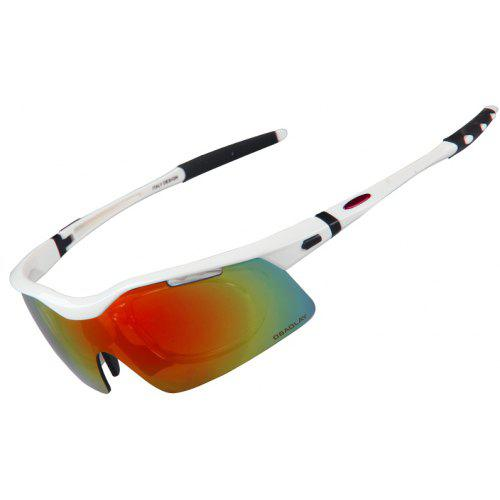 3ec0805df7 OBAOLAY SP0875 Sports Sunglasses With 5 Interchangeable Lens Cycling  Baseball Glasses -  26.12 Free Shipping