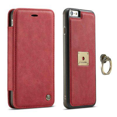 Фото CaseMe for iPhone 6/ 6s Luxury PU Leather Wallet Case with Ring Bracket Stand Feature and 1 Credit Card Slot gumai silky case for iphone 6 6s black
