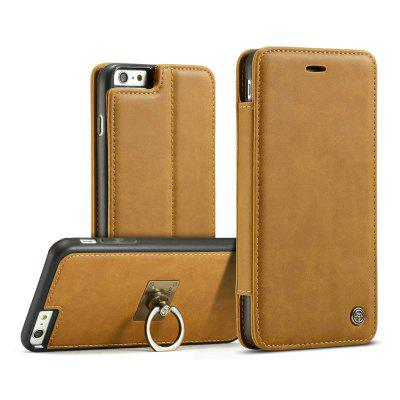 CaseMe for iPhone 6/ 6s Luxury PU Leather Wallet Case with Ring Bracket Stand Feature and 1 Credit Card Slot 2017 men leather brand luxury wallet vintage minimalist short male purses money clip credit card dollar price portomonee