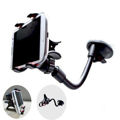 Adjustable Car Mount Mobile Phone Holder For Smartphone 3.5-6 inch Support GPS