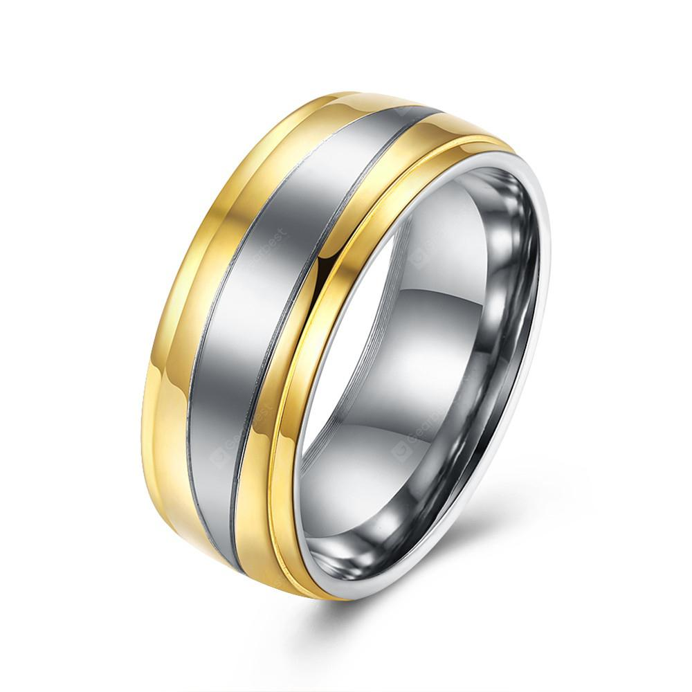 Titanium Steel Ring Charm Jewelry Gift for Men