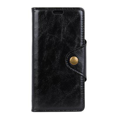 For Samsung Galaxy S9 Leather Case Revit Flap Wallet Stand Case with 3 Card Slots
