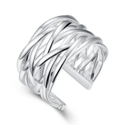 Fashion Adjustable Weaving Openning Ring Charm Jewelry