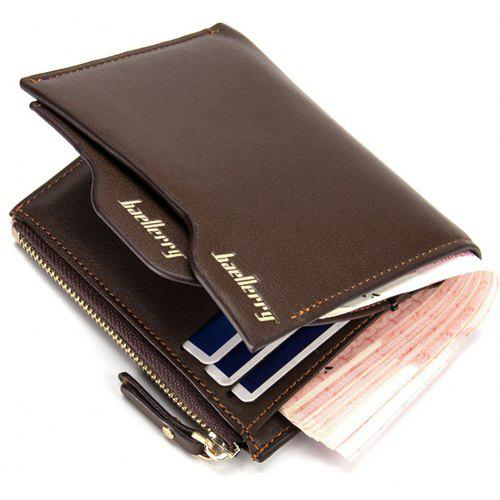 New Originality Designer Men's Wallets Soft Quality PU Vertical Black Brown Driver's License ID Cards Holder Purse - $10.70 Free Shipping|Gearbest.com