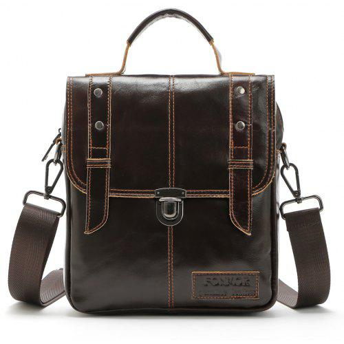 ba3cb62249 Brand Fashion Men Genuine Leather Shoulder Bags High Quality Briefcases for  Men Business Tote
