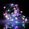 BRELONG 20LED Copper Wire String Lights for Christmas Indoor Decorations 1pcs - RGB