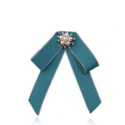 Double Bow Brooch All-match Exquisite Fashion