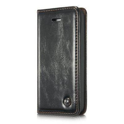 CaseMe 003 for iPhone 5 5S SE Flip Wallet Case Magnetic Closure Cover with ID and Money Slots