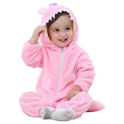 Spring and Autumn Models Children s Wear Flannel Animal Modeling Climbing  Clothing Newborn Baby Clothes 96b55bc49