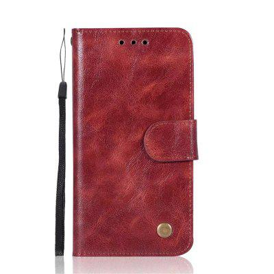 Case For Apple iPhone X Card Holder Wallet with Stand Flip Full Body Solid Color Hard PU Leather kinston i love you patterned pu leather full body case w stand for motorola moto g black red