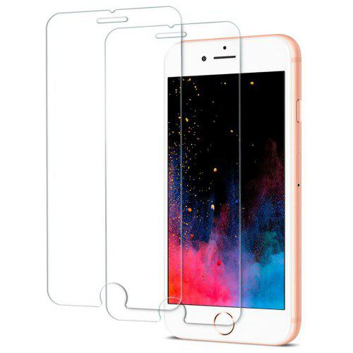 cheap for discount 4d91c d2359 2PCS Screen Protector for Iphone 8 Plus/7Plus HD Full Coverage High Clear  Premium Tempered Glass