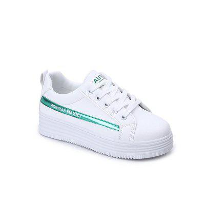 Spring New Literary Female Students Basic Flat Shoes