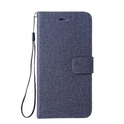 Case For Apple iPhone 7 Plus High Quality PU Leather Case Retro Canvas Phone Cover