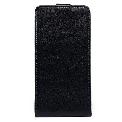 Up and Down Crazy Horse Stripes Pu Leather Case for Vernee Thor Plus