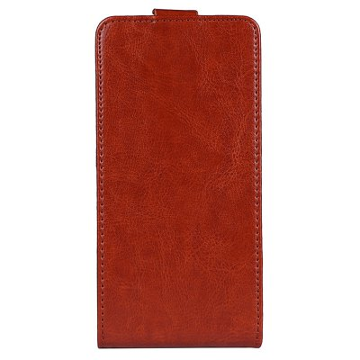 Up and Down Crazy Horse Stripes Pu Leather Case for Ulefone T1