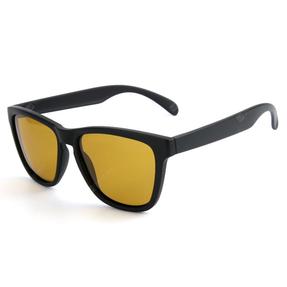 TOMYE P9007 Night-Vision Glasses Square Frame Polarized Light Gafas de moda