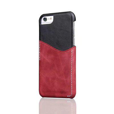 For iPhone 6 Plus / 6s Plus Back Cover Mixed Colors Geuine Leather Case icarer wallet genuine leather phone stand cover for iphone 6s plus 6 plus marsh camouflage