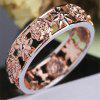 Europe and The United States Plum Gold Ring Female - ROSE GOLD