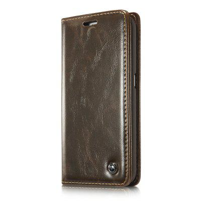 CaseMe 003 for Samsung Galaxy S6 Edge Flip Wallet Leather Phone Case with Credit Card Slot