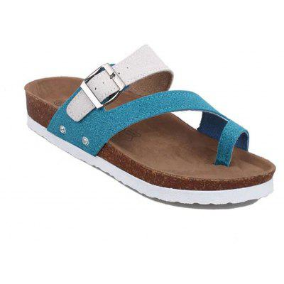 Summer Slippers Flat-Bottom Couple Beach Shoes