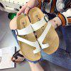 Summer Slippers Flat-Angle Beach Shoes - WHITE