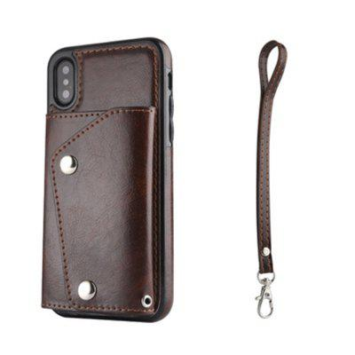 Luxury Flip Leather Case For IPhone X Wallet Card Holder Protective Back brand passport women wallets case travel leather wallet female key coin purse wallet women card holder wristlet money bag small