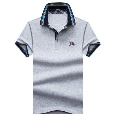 Mens Polo Shirt Cotton Short Sleeves T-Shirt Man Polo T-Shirt Male Tops