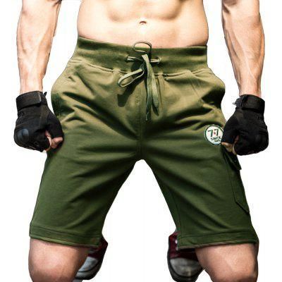 2018 Verão Men's Army Green Wind Multi-Pocket Tough Guy Summer Shorts Five Pants Men