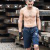 2018 Summer Men'S Army Green Wind Multi-Pocket Tough Guy Summer Shorts Five Pants Men - BLUE