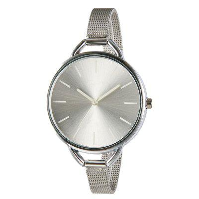 Simple Lady Fine Mesh Quartz Montre