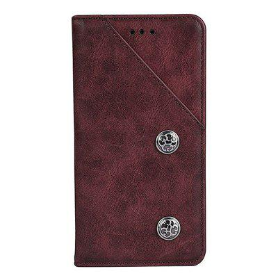 Vintage Grain PU Leather Case for Bluboo S1