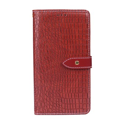 Crocodile Grain PU Leather Wallet Case for Oukitel K3