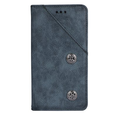 Retro Grain PU Leather Case for Homtom S8