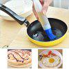 Heat Resist Silicone Oil Bottle Pen Tube Brush BBQ Kitchen Barbecue Grill Tool - BLUE