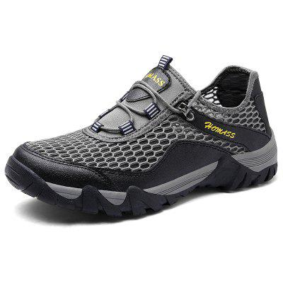 HOMASS Men Casual Hiking Wear Water Outdoor Mesh Climbing Breathable Shoes